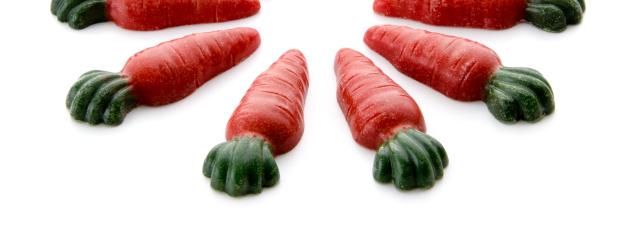 Mrkvičky - doplňkové krmivo pro králíky 84 ks